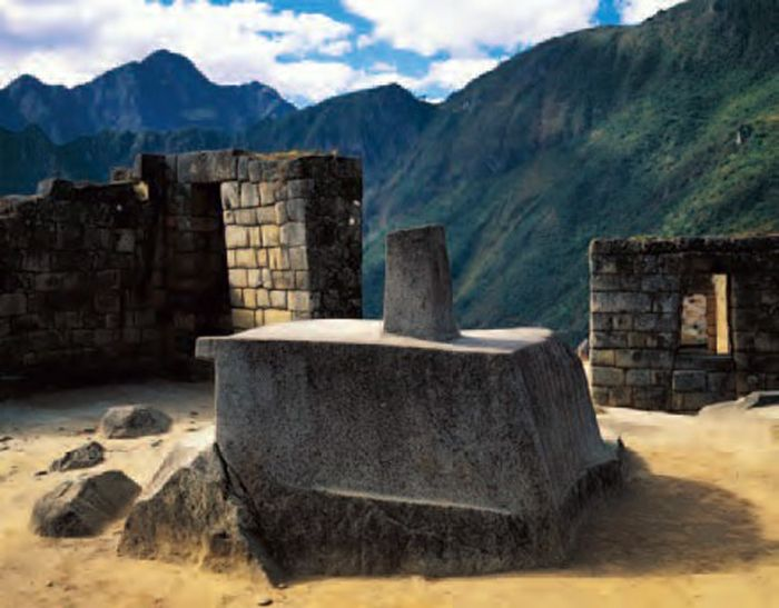 Calendar Stone Ap Art History : City of machu picchu central highlands peru inka c