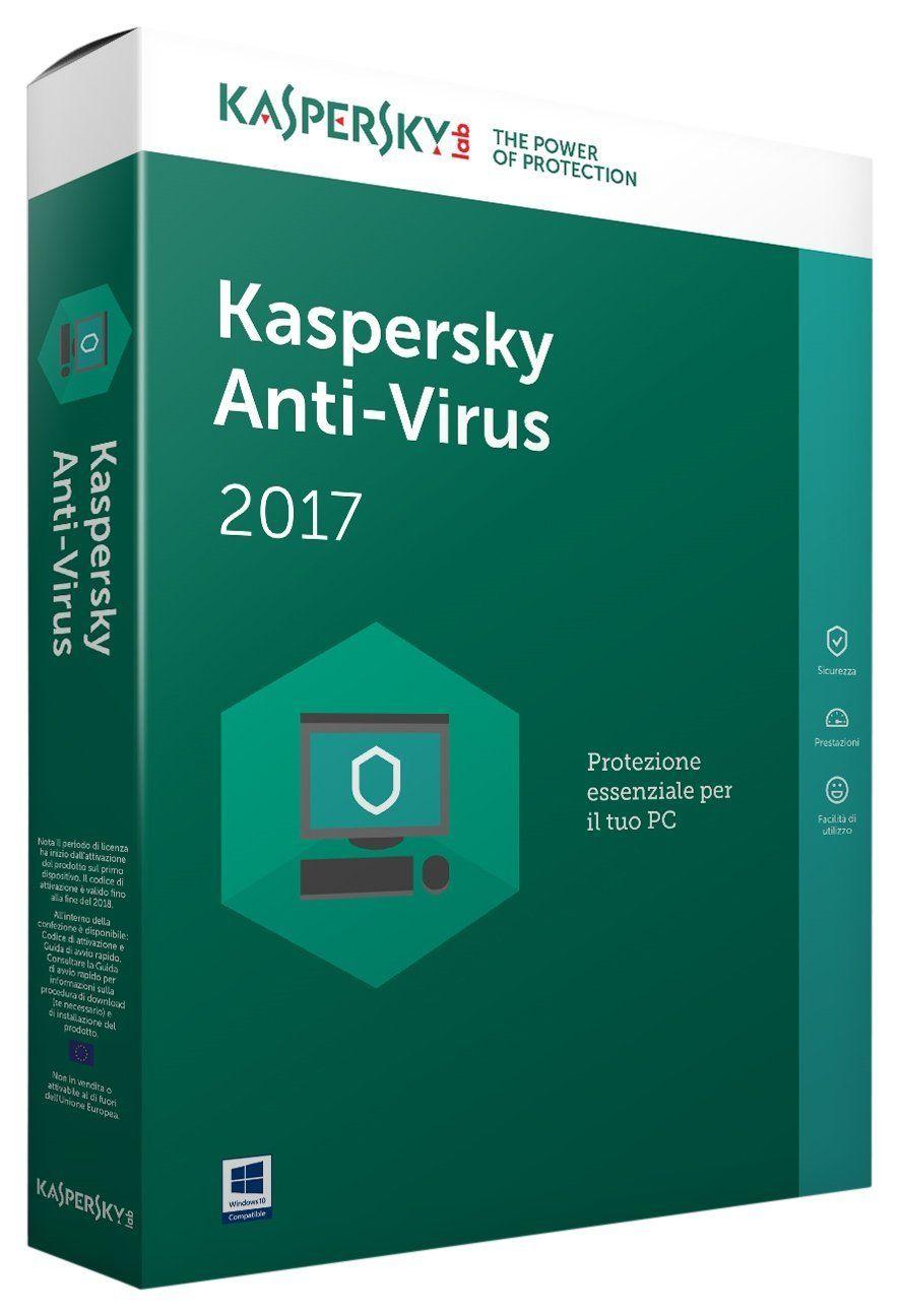 KASPERSKY ANTIV. 17 1US: Amazon.es: Electrónica ...