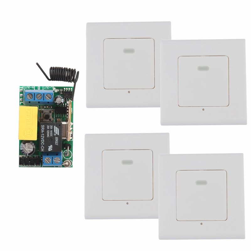 Ac 220v wireless remote control switch receiver remote transmitter ac 220v wireless remote control switch receiver remote transmitter hall bedroom ceiling lights wall lamps wireless mozeypictures Image collections