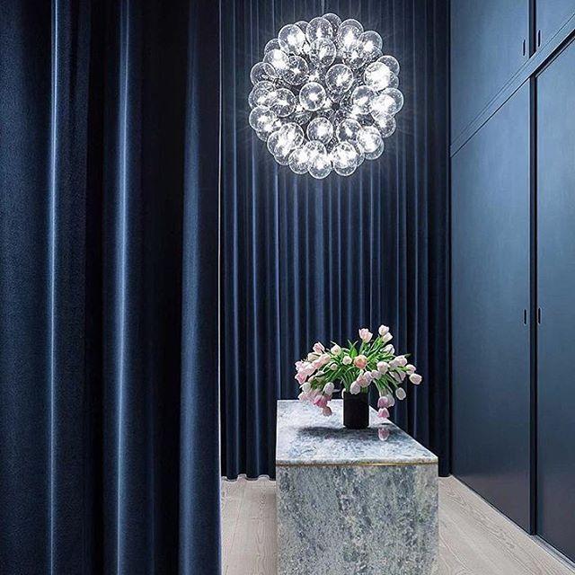 Blått är Flott! 💙 Source: @pocodesigns #inredningslisa #inredning #interior…