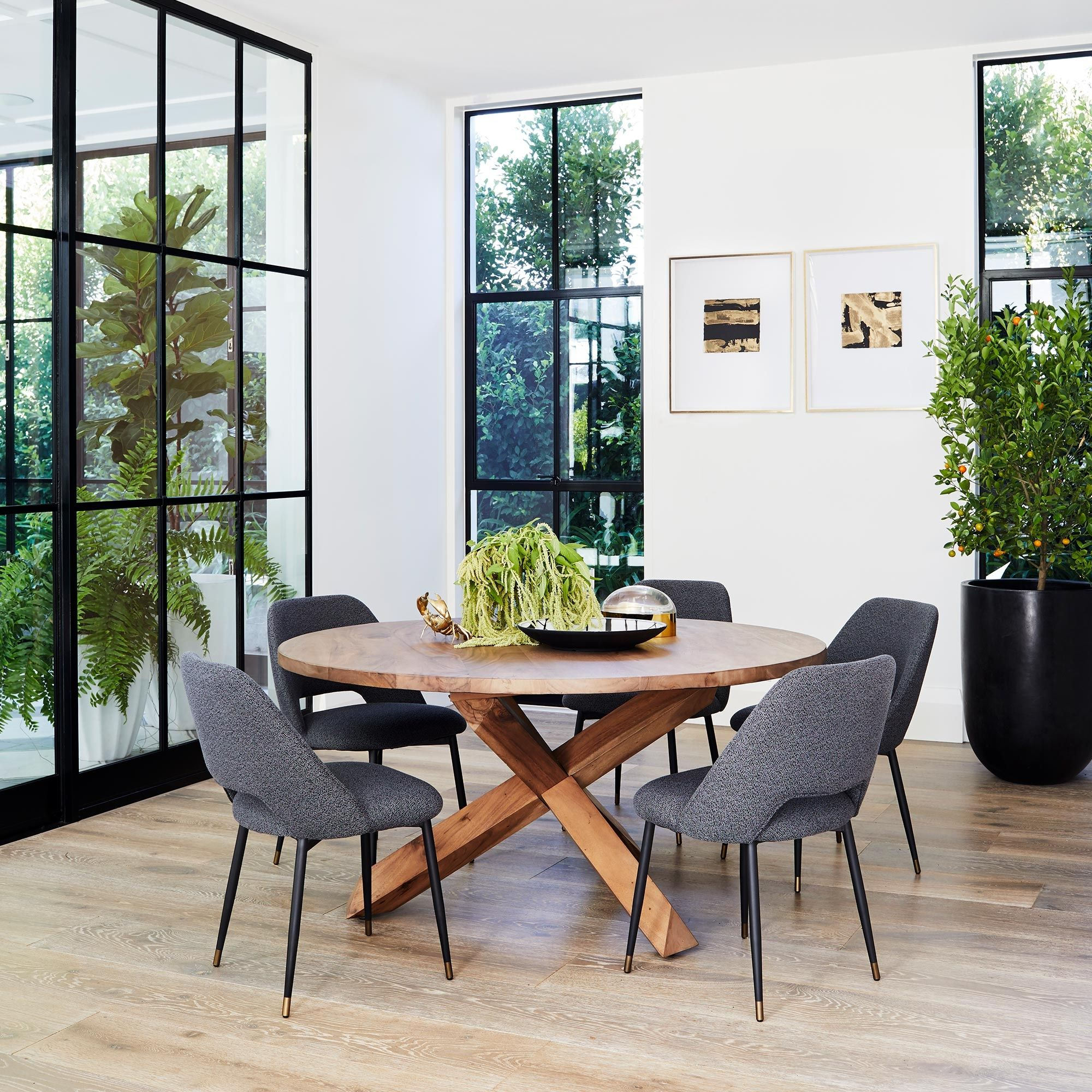 Outstanding Eva Dining Chair Living In 2019 Round Dining Table Creativecarmelina Interior Chair Design Creativecarmelinacom