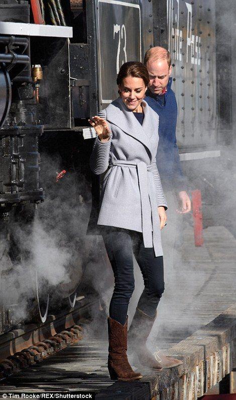 The Duke and Duchess of Cambridge...