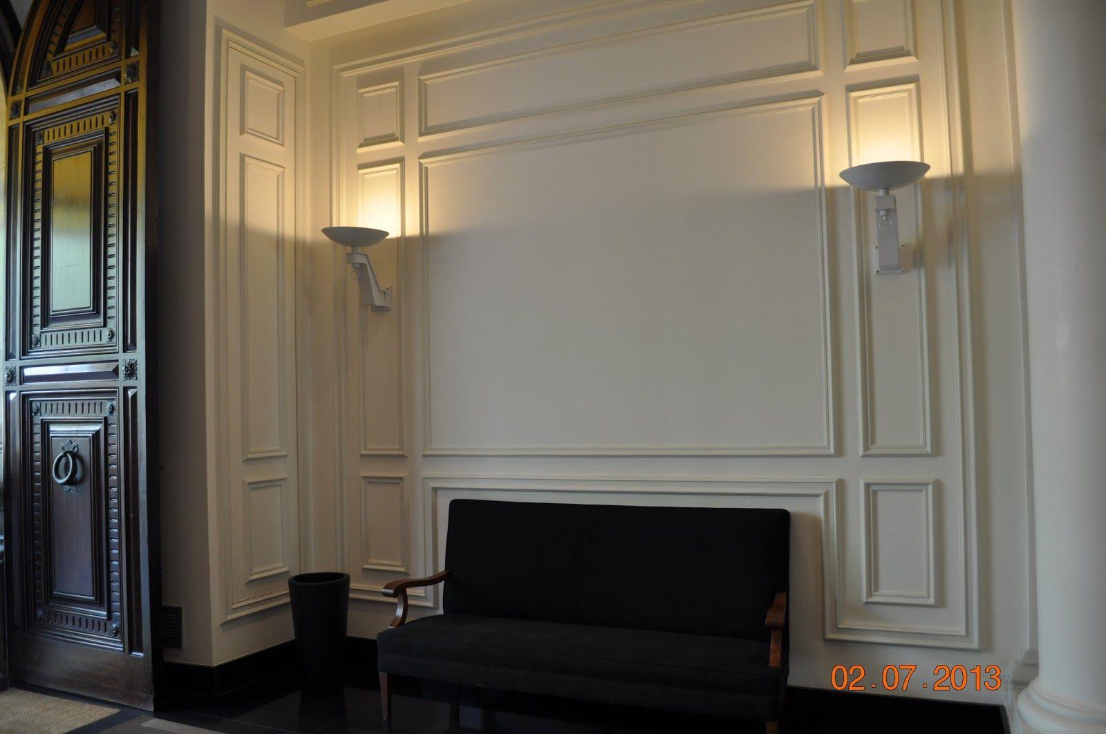 Las combinaci n de molduras de orac decor en paredes y techos han conseguido mantener el estilo - Molduras para paredes ...