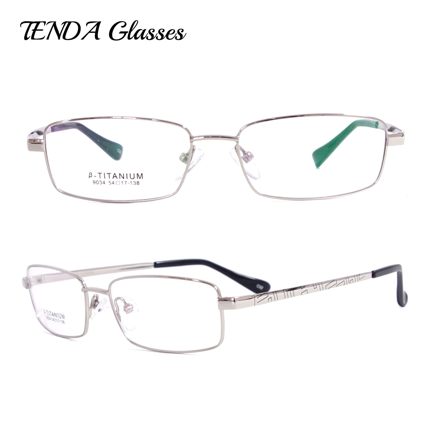 Titanium Flexible Eyeglass Frames Myopia Glasses Men Eyewear Frames ...