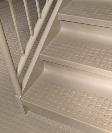 Best Rubber Stair Treads Stair Installation Flooring 400 x 300