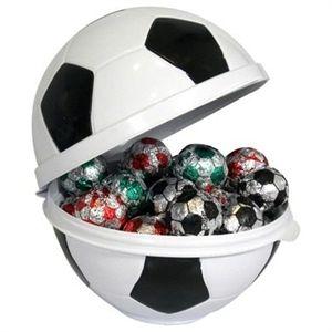Porta Mix Bola De Futebol Preto E Branco 1001 Festas Artigos
