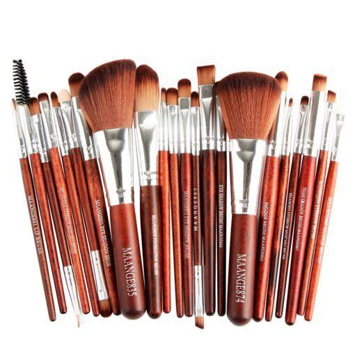 Pro 22pcs/set Makeup Brushes Powder Foundation Eyeshadow Eyebrow Eyeliner Blush Make up Brush Set Cosmetic Soft Synthetic Hair