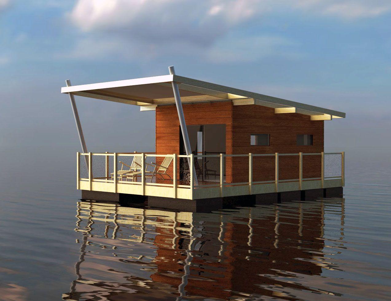 Aqua 002 Habitation Sur L 39 Eau Houseboat Pinterest Eaux Maison Flottante Et Bateaux