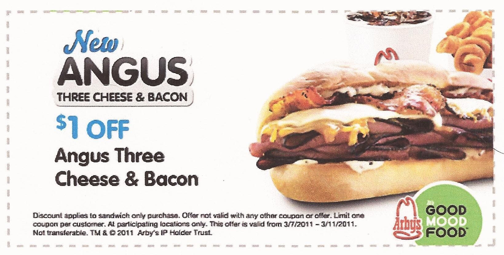 arbys coupons for reuben sandwich