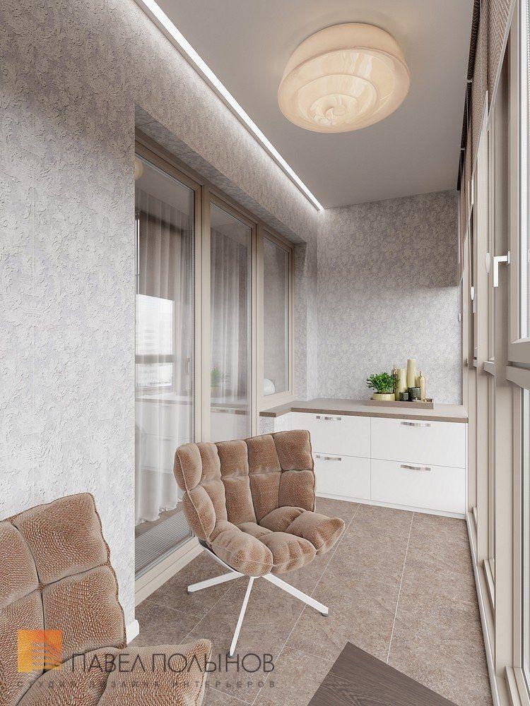 Фото: Дизайн лоджии - Интерьер квартиры в стиле минимализм ...