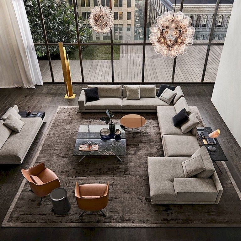 75+ Lovely Modern Apartment Living Room Decor Ideas LIVING ROOM - Living Room Ideas For Apartments