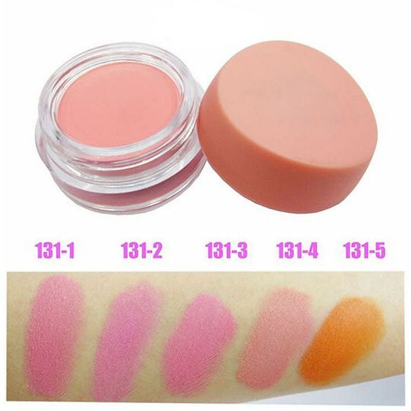 Soft Solid Color Cheek Blusher Palette Natural Blush Powder Cosmetics Makeup alishoppbrasil