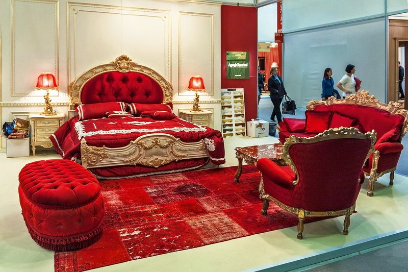 Red Bedroom Furniture Red Italian Style Bedroom Furniture Top And Best Classic Furniture Classic Furniture King Bedroom Furniture Eclectic Bedroom