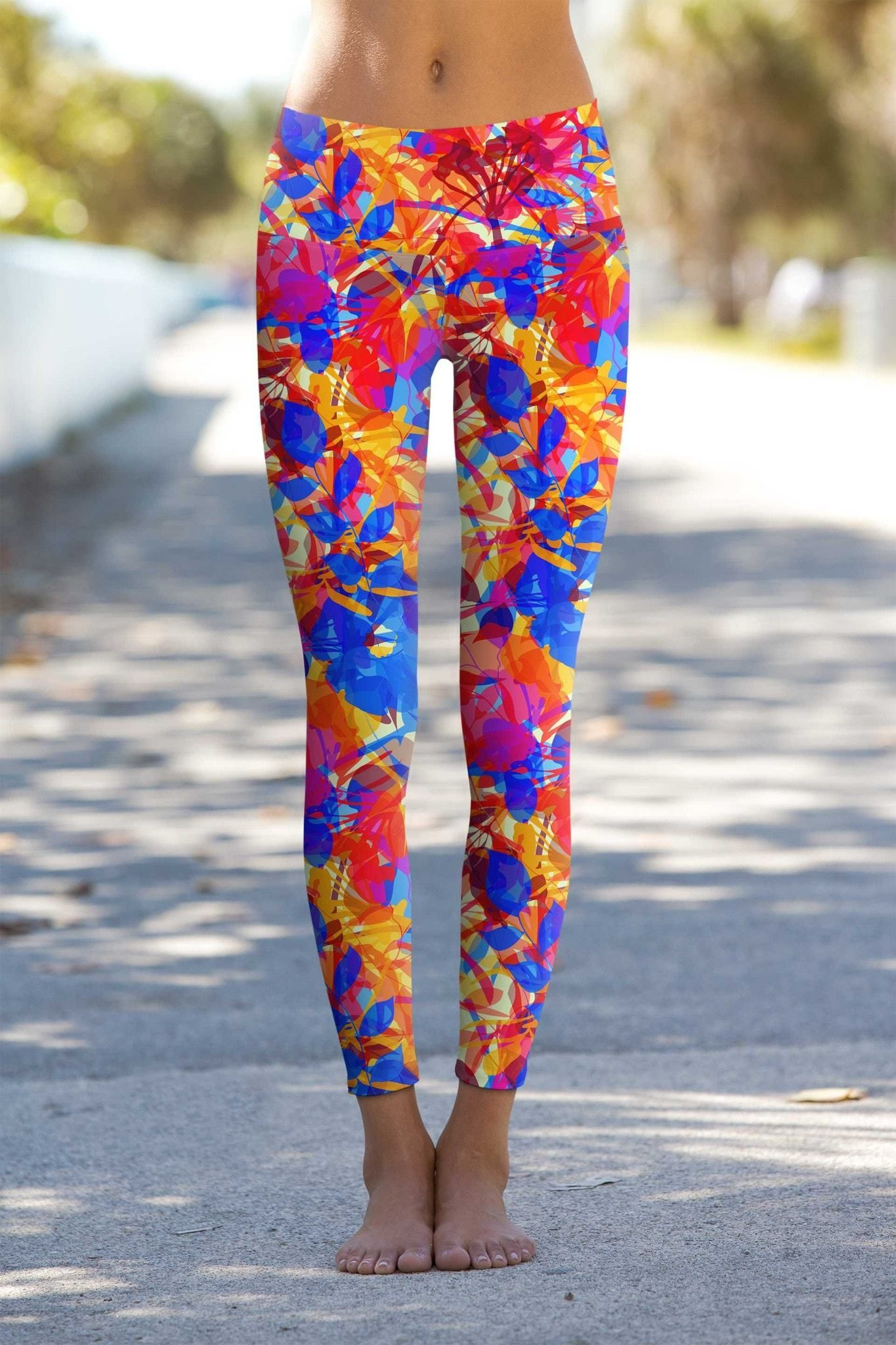 48ba7740f29f03 These eco-friendly printed performance high waisted leggings are made from  the highest quality, most opaque, soft stretch fabric with excellent shape  ...