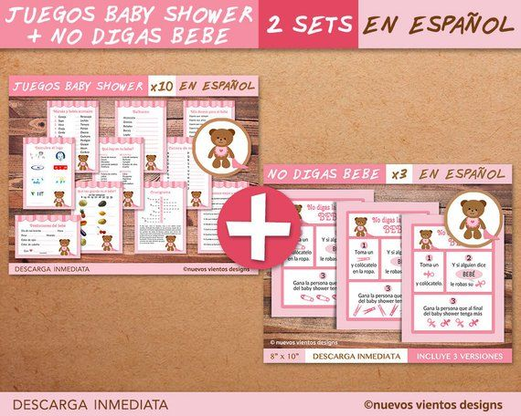 GENDER REVEAL ELEPHANTS / Gender reveal party / Bundle x 10 games printable / Girl or boy / Instant download / English version