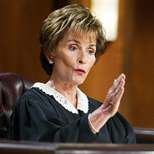 Judge Judy -a voice in the wilderness! Thank you!  Wish we had more judges like her.... She Tells It Just Like It Is!