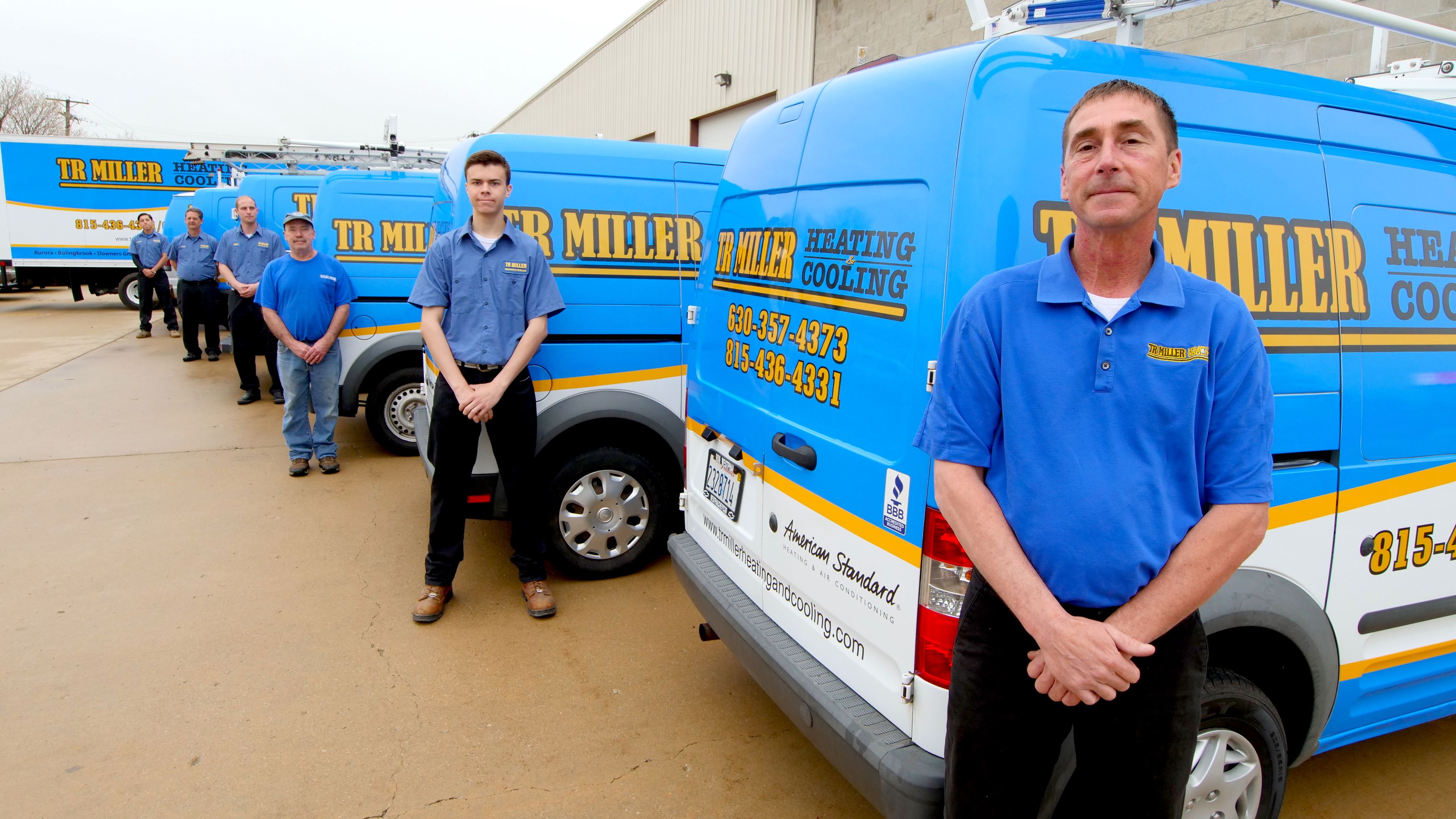 Tr Miller Heating Cooling Is A Family Owned 3rd Generation Hvac