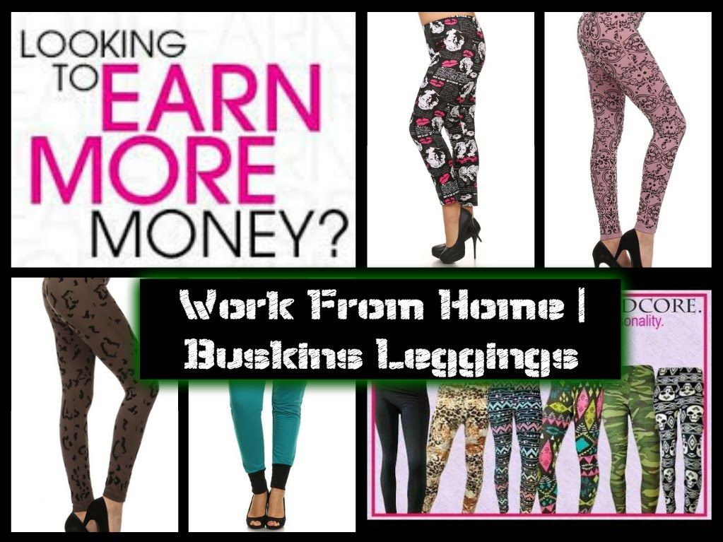 You can make money from home selling leggings by joining the affiliate program with Buskins!