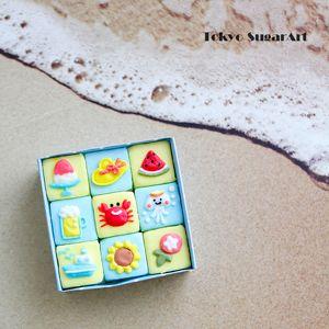 summer sugar cube