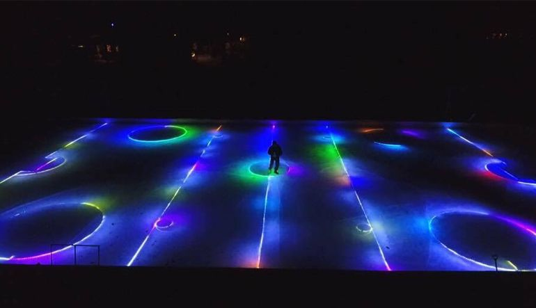 Maple Grove Family Blows Minds With Homemade Ice Rink ...