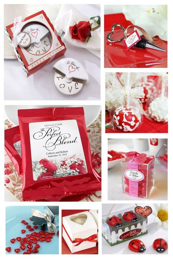 red and white wedding favors | Red Wedding Ideas | Pinterest ...
