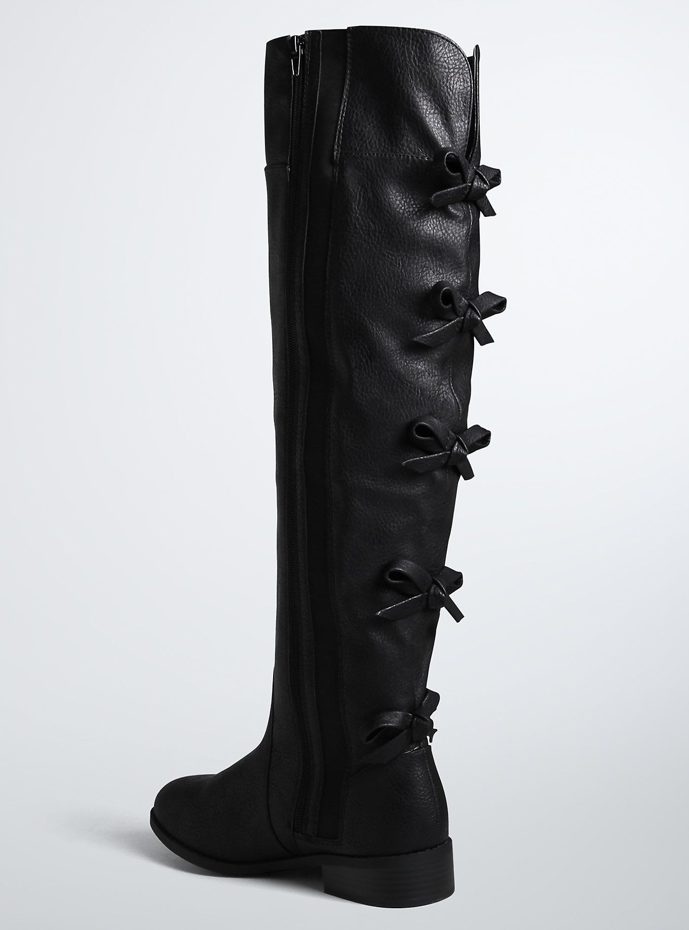 b6e55c5eb6c Bow Back Over The Knee Boots (Wide Width   Wide Calf)
