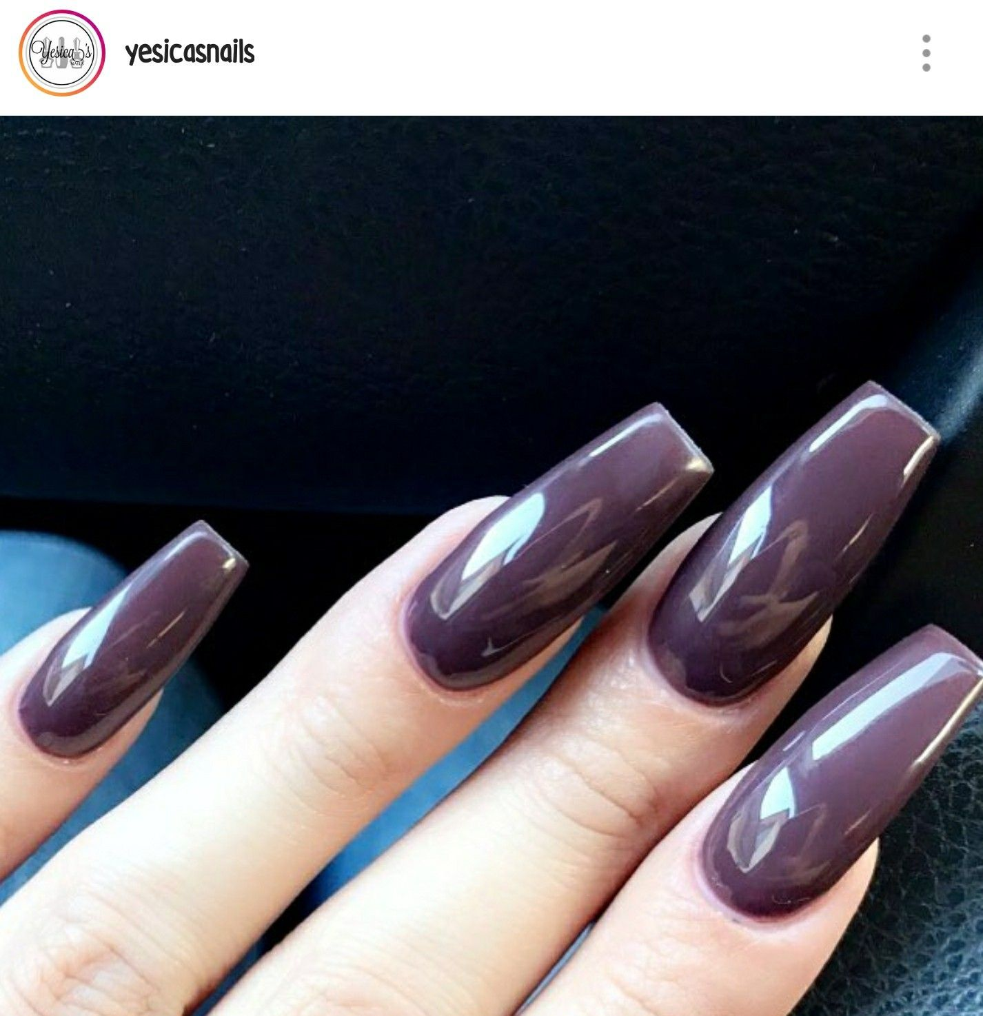 Long Square Nails. Purple Nails. Acrylic Nails. Gel Nails. | nails ...