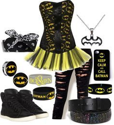 """batman outfits for teens 