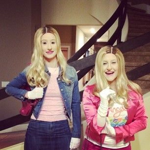 Iggy Azalea Dressed As The Movie White Chicks For Halloween Celebrity Costumes Pop Culture Halloween Costume Celebrity Halloween Costumes