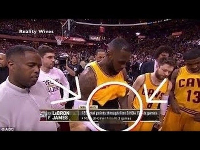 LeBron James Accidentally Shows His Penis During NBA Finals | Celebs | Pinterest