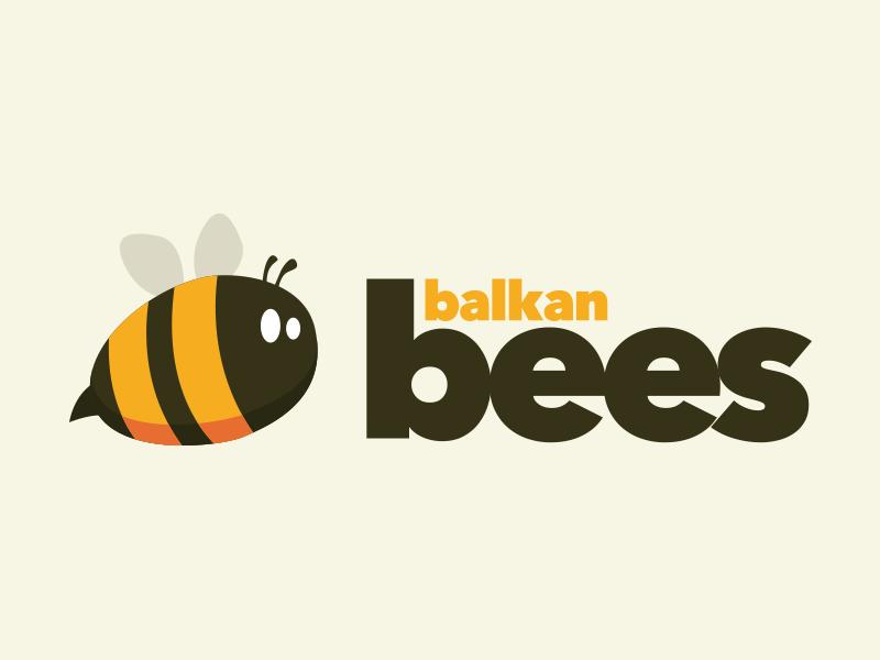 Balkan Bees #logo #graphicdesign #branding