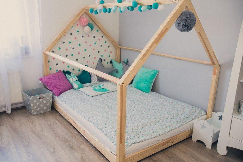 Kinderbett Hausbett 140x200 Cm Etsy Kinder Bett Kinderbett Betten Fur Kleinkinder