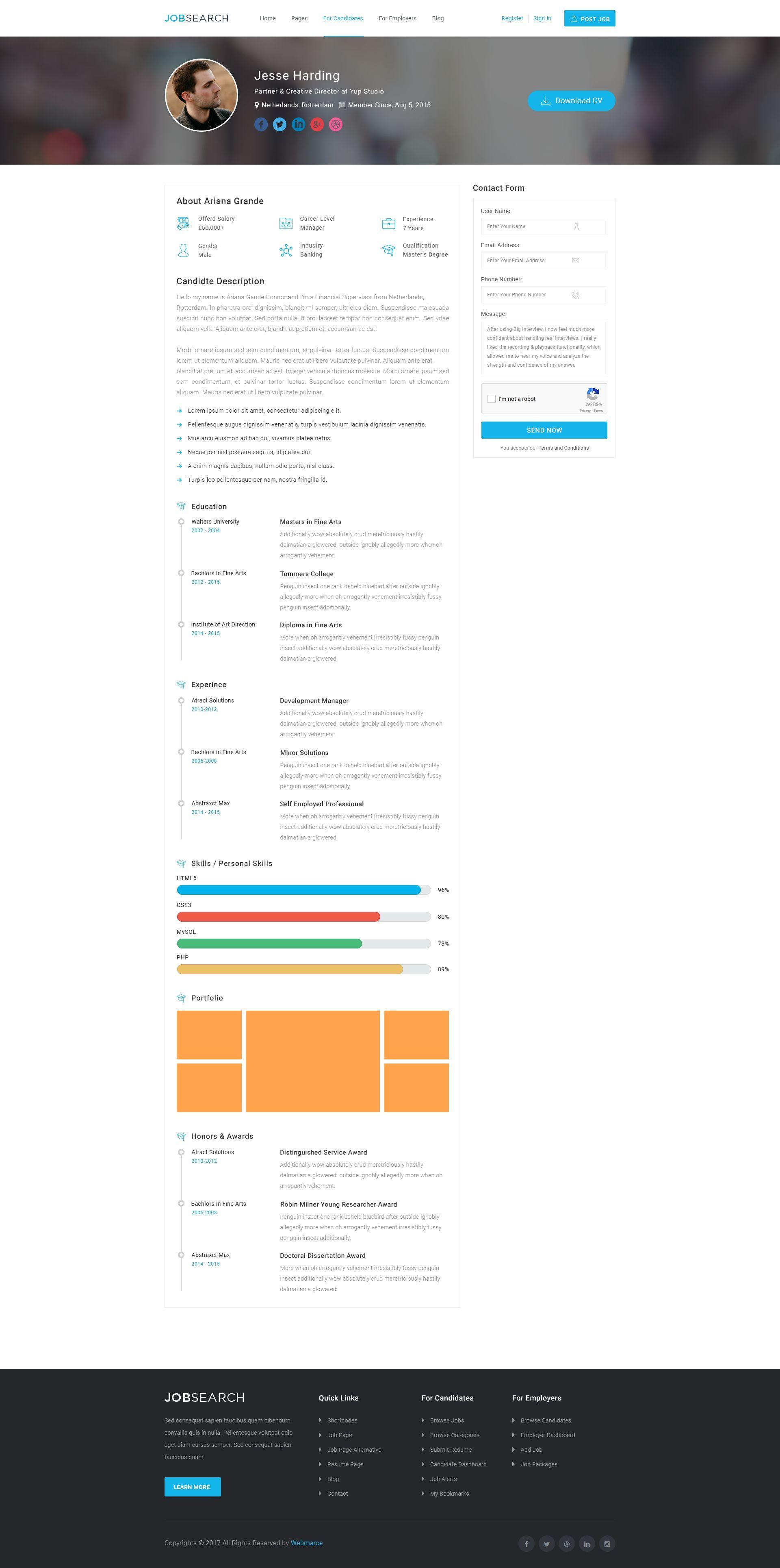 Https Themeforest Net Item Careerfy Job Board Wordpress Theme