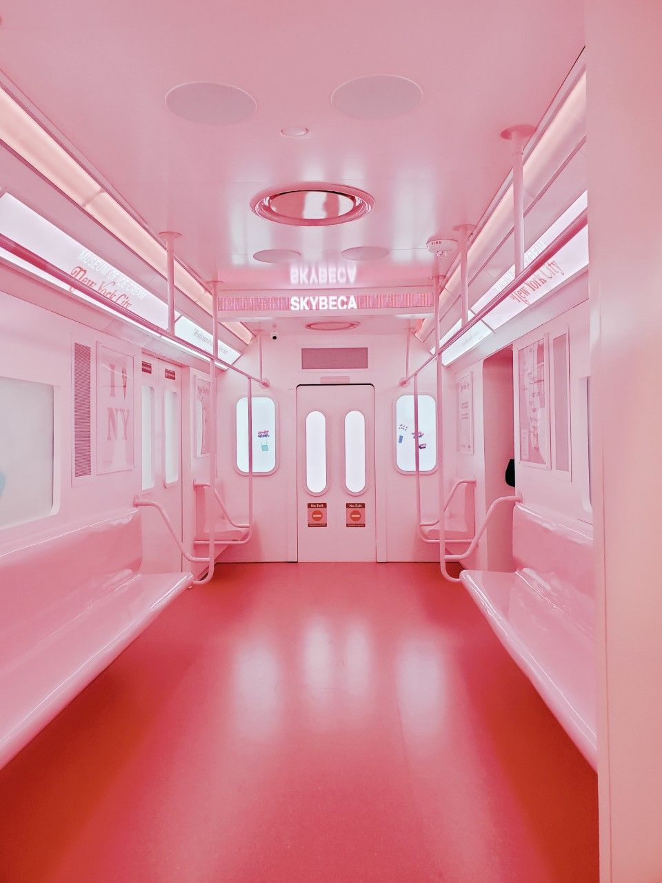 The Museum Of Ice Cream New York City Edition Pastel Pink Aesthetic Pink Aesthetic Pink Walls