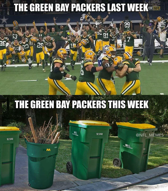 Packers Funny Football Memes Nfl Jokes Nfl Memes Funny