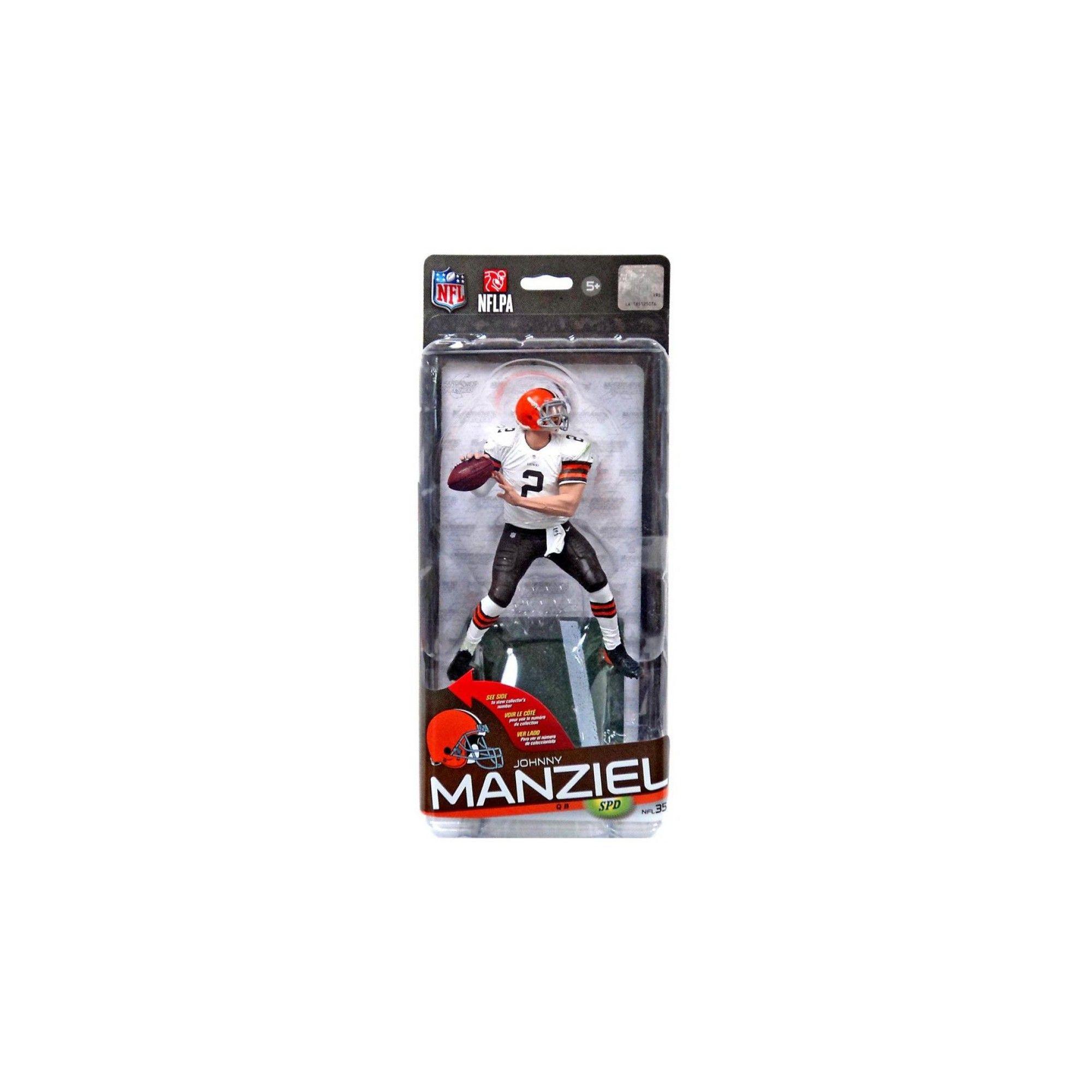 NFL Series 35 McFarlane Action Figure Cleveland Browns Johnny Manziel