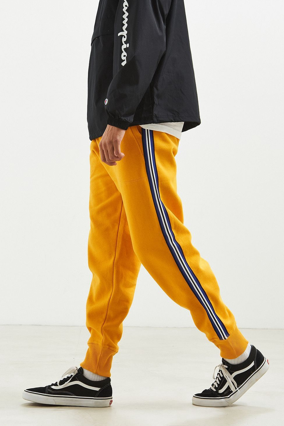 Puma T7 Vintage Joggers In Yellow 57498748 in 2019 | Mens