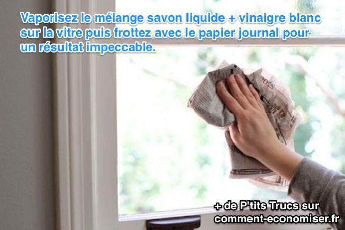 25 utilisations surprenantes du papier journal trucs pratiques nettoyer vitres comment. Black Bedroom Furniture Sets. Home Design Ideas