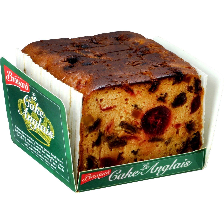Gateau Brossard Cake Anglais