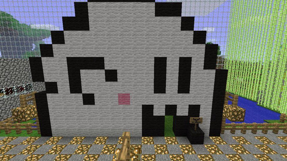 Mariou0027s BOO Pixel Art Created On Minecraft For XBL