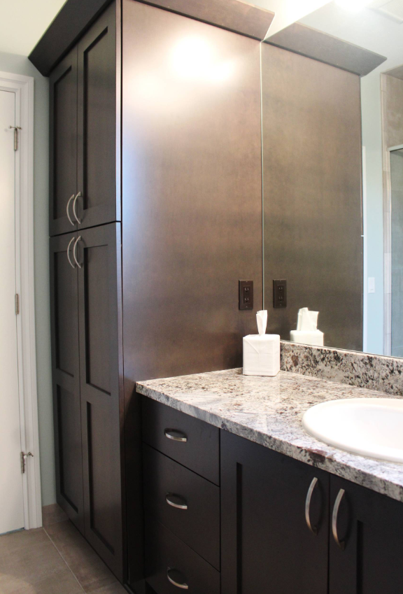 Beautiful Bathroom Vanity Project Done By Us Cabinetry By Better