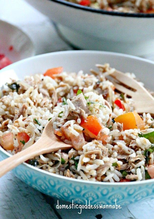 One-Pot Tuna Rice