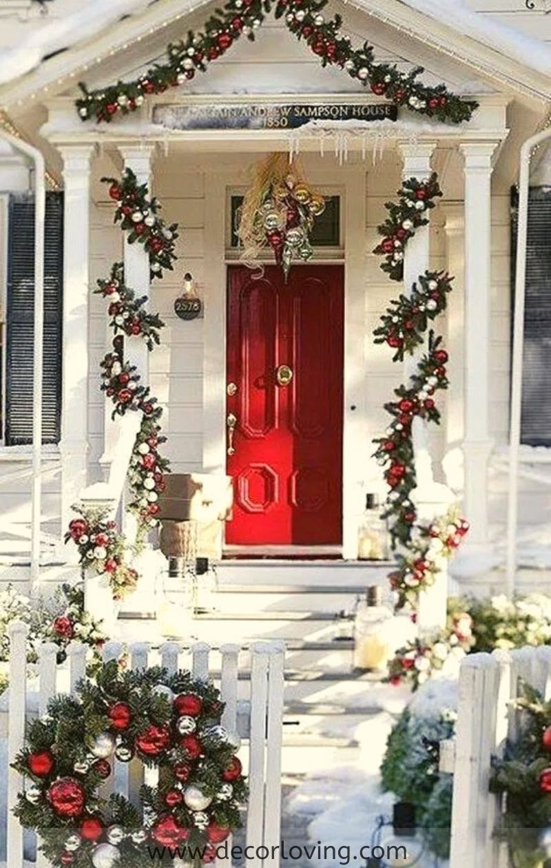 10 Awesome Christmas Decor Ideas For Garden Decoration  Christmas