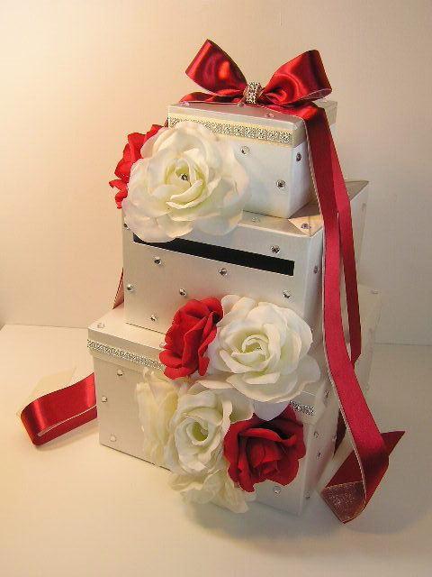17 Best images about Wedding Card Boxes Holders – Red Wedding Card Box