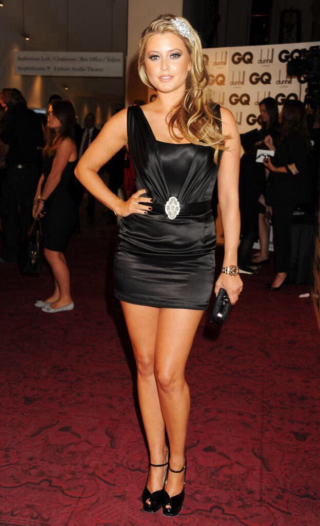 Holly Valance Holly Valance Mini Black Dress Fashion