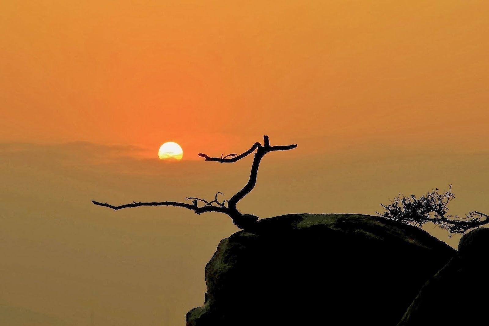 الشفق الاحمر غروب الشمس Hd Sunset Celestial Celestial Bodies