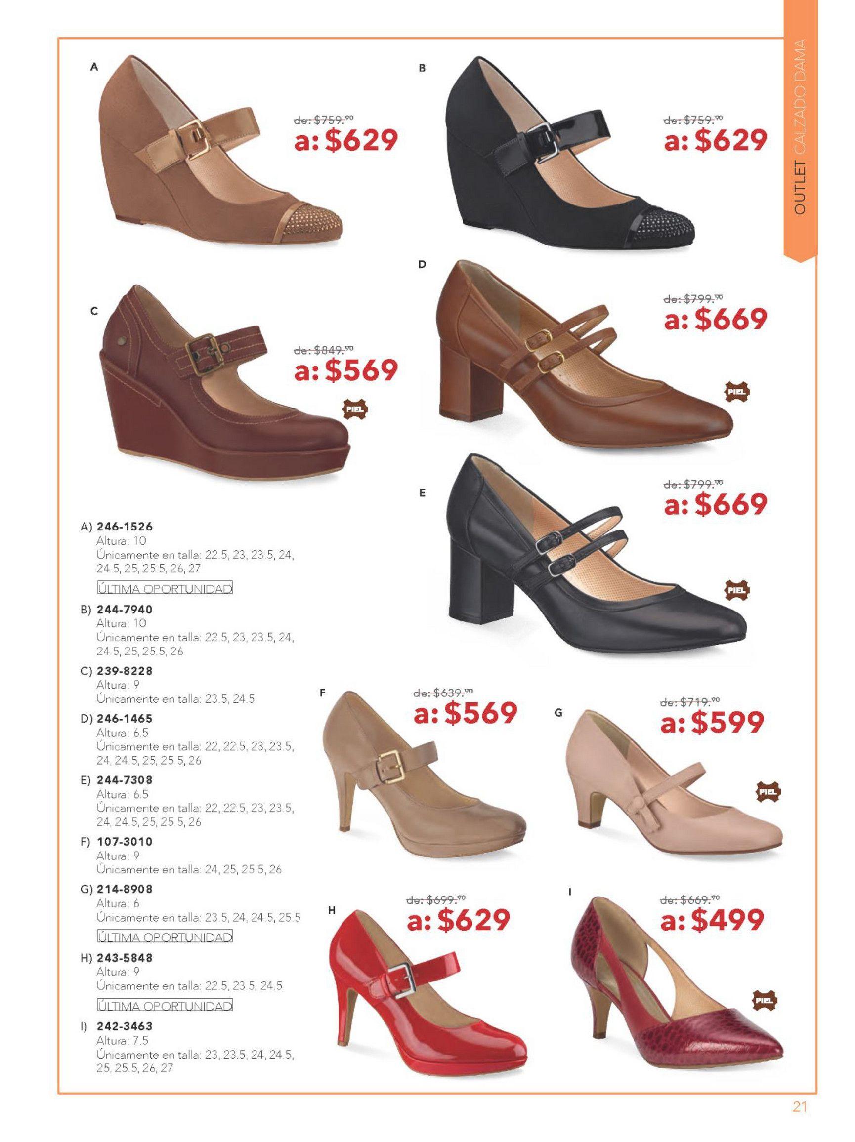 Folleto De Andrea Outlet Febrero18 Puedes Ver Mas Catalogos De Ropa Y Zapatos En Www Catalogosmx Moda Oxford Shoes Shoes Womens Oxfords