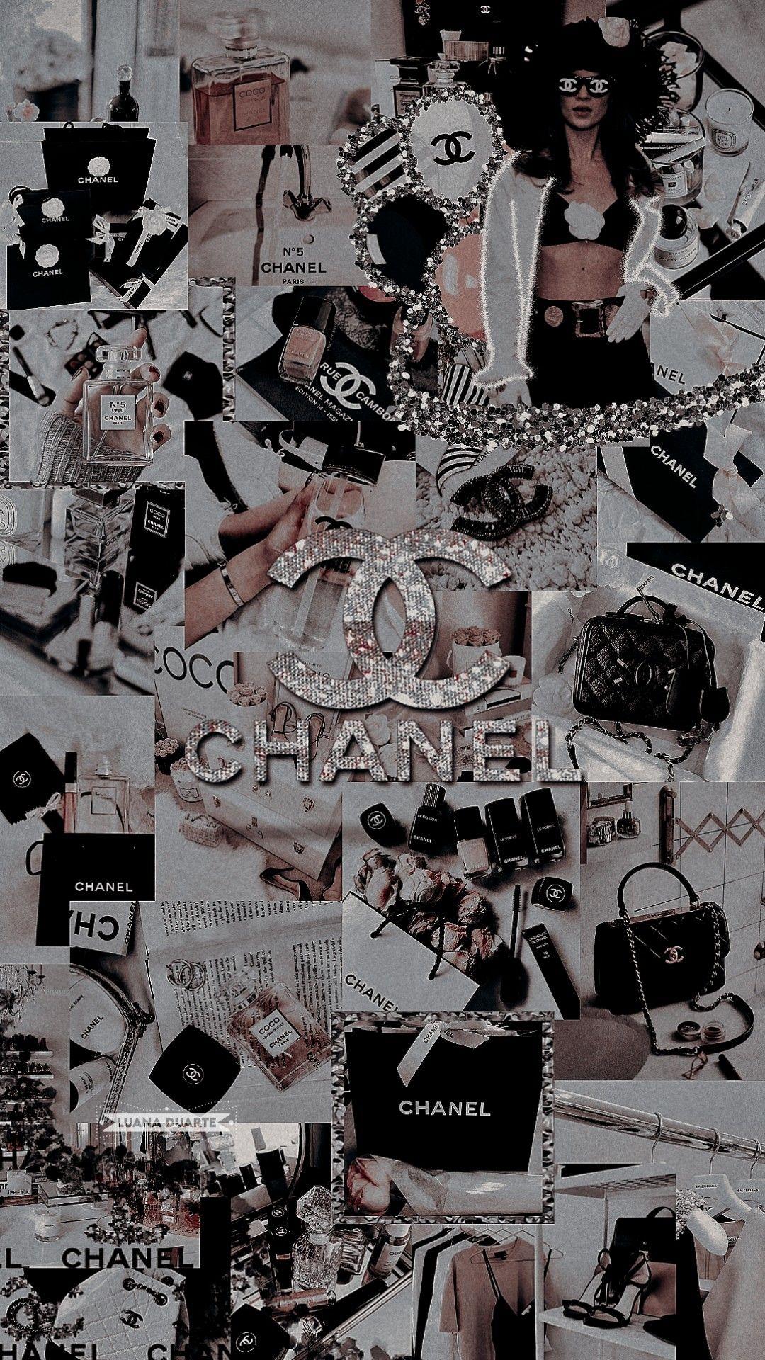 Lockscreen Chanel in 2020 Chanel wallpapers, Bling