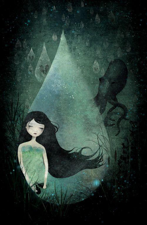 Ocean if Tears by Anne-Julie Aubry
