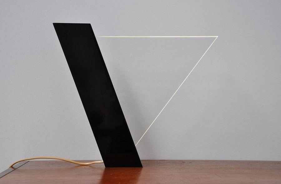 Peter Schreuder Goedheijt Lucite Lamp, Indoor 1979